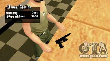 USP45 Tactical para GTA San Andreas