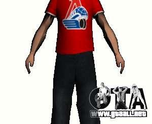 Reportero de piel para GTA San Andreas