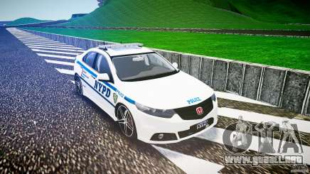 Honda Accord Type R NYPD (City Patrol 2322) ELS para GTA 4