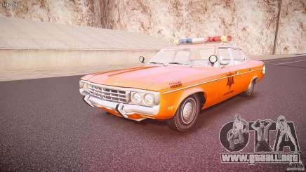 AMC Matador Hazzard County Sheriff [ELS] para GTA 4