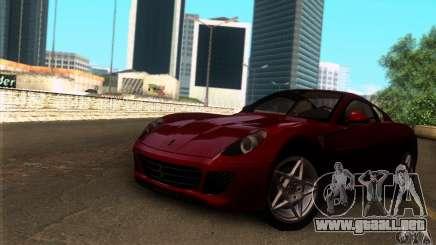 Ferrari 599 GTB Fiorano para GTA San Andreas