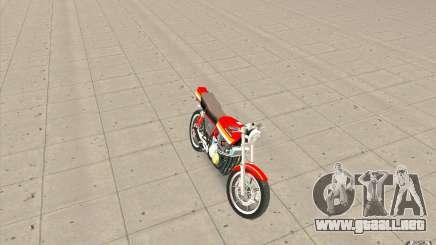 Kawasaki Z400FX para GTA San Andreas
