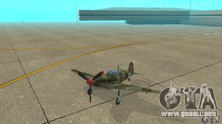 Yak-9 durante la II Guerra Mundial para GTA San Andreas