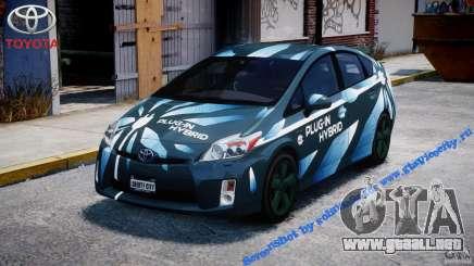 Toyota Prius 2011 PHEV Concept para GTA 4