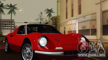 Ferrari 246 Dino GTS para GTA San Andreas