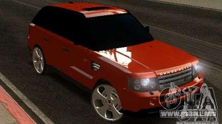 RANGE ROVER SPORT v 2.0 para GTA San Andreas