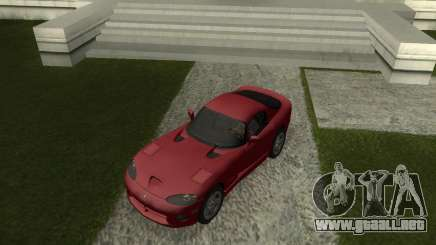 Dodge Viper GTS Coupe серый para GTA San Andreas