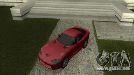Dodge Viper GTS Coupe para GTA San Andreas