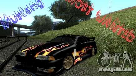 Rèjzora de vinilo de Most Wanted para GTA San Andreas