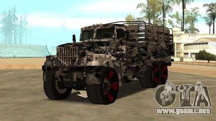 Ural 5773 Tuning para GTA San Andreas
