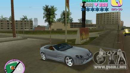 Mercedes-Benz VISION SLR Cabrio para GTA Vice City