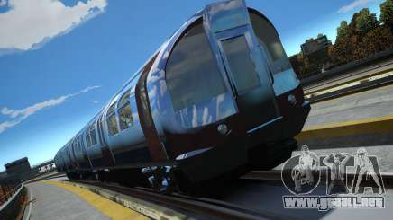 Tren de Londres para GTA 4