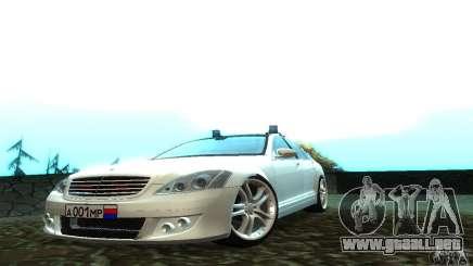 Mercedes-Benz S500 W221 Brabus para GTA San Andreas