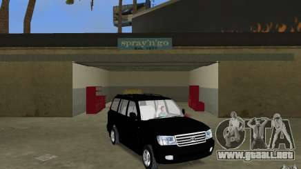 Toyota Land Cruiser 100 VX V8 para GTA Vice City
