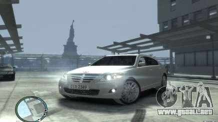Hyundai Genesis Sedan Elite para GTA 4