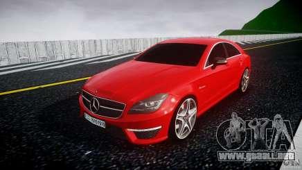 Mercedes-Benz CLS 63 AMG 2012 para GTA 4