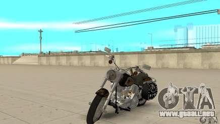 Harley Davidson FLSTF (Fat Boy) v2.0 Skin 5 para GTA San Andreas