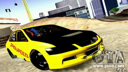 Mitsubishi Lancer Evolution VIII - ProSpeed para GTA San Andreas