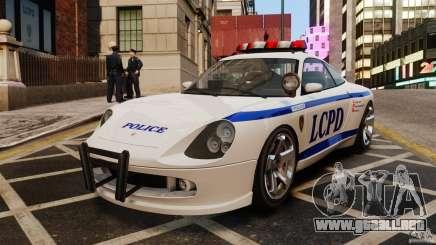 El cometa blanco de la Policía para GTA 4