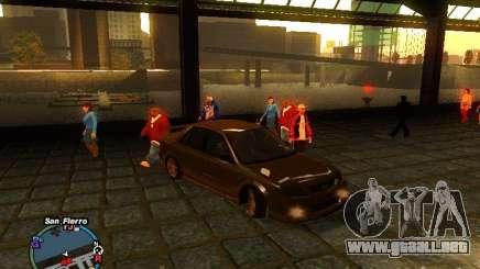Mazda Mazdaspeed Familia 2001 para GTA San Andreas