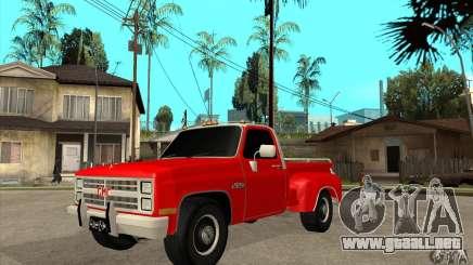 GMC 454 PICKUP para GTA San Andreas