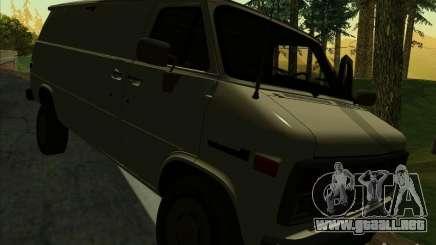 GMC Vandura C1500 para GTA San Andreas