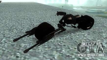 Batpod para GTA San Andreas