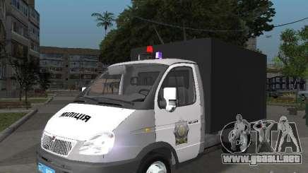 GAZ 3302 policía para GTA San Andreas