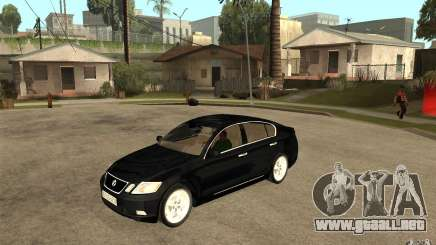Lexus GS430 2007 para GTA San Andreas