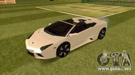 Lamborghini Reventon Convertible para GTA San Andreas
