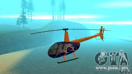 Robinson R44 Raven II NC 1.0 piel 3 para GTA San Andreas