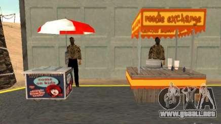 Nuevo vendedor de perritos calientes para GTA San Andreas