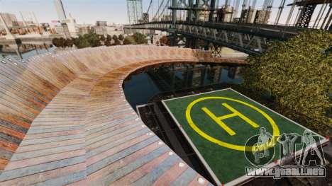 Pista vertiginosa para GTA 4 sexto de pantalla