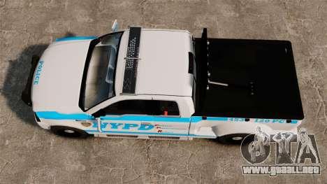 Ford F-150 v3.3 NYPD [ELS & EPM] v2 para GTA 4 visión correcta