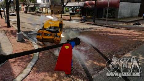 Guión de Superman para GTA 4 séptima pantalla