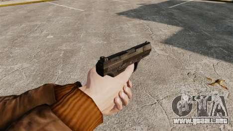Walther P99 pistola semi-automática v4 para GTA 4 segundos de pantalla