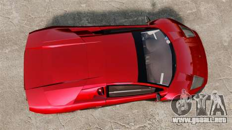 Lamborghini Murcielago RGT para GTA 4 visión correcta