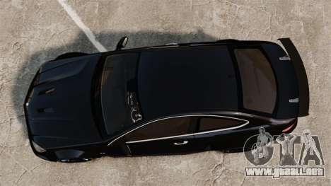 Mercedes-Benz C63 AMG BSAP (C204) 2012 para GTA 4 visión correcta