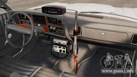 Dodge Aspen 1979 [ELS] para GTA 4 vista interior
