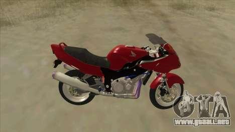 Honda CBR1100XX para GTA San Andreas left