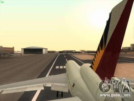 McDonell Douglas DC-10 Philippines Airlines para la vista superior GTA San Andreas