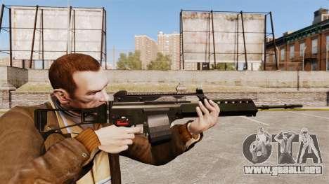 Rifle de asalto MG36 H & K v2 para GTA 4
