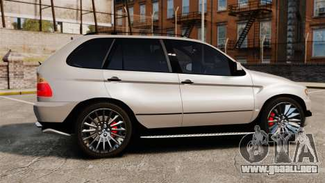 BMW X5 4.8iS v2 para GTA 4 left