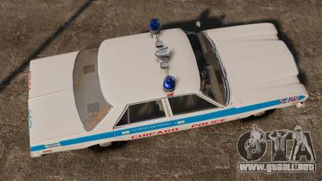Dodge Aspen 1979 [ELS] para GTA 4 visión correcta
