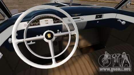 Cadillac Series 62 convertible 1949 [EPM] v3 para GTA 4 vista interior