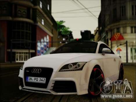 Audi TT RS 2013 para GTA San Andreas