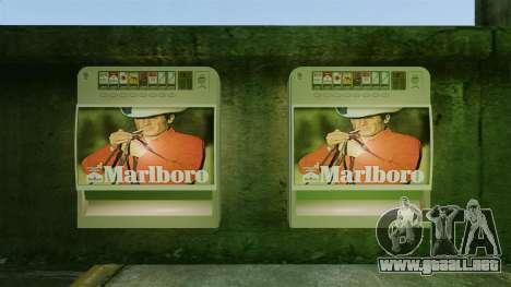 Nueva máquina expendedora de cigarrillos para GTA 4 segundos de pantalla