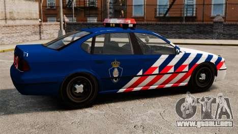 La policía militar holandesa para GTA 4 left