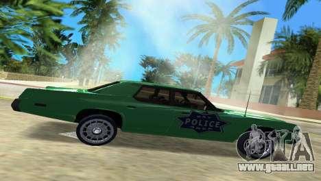 Dodge Monaco Police para GTA Vice City left