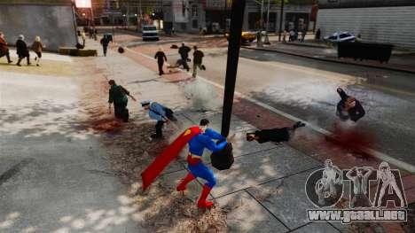 Guión de Superman para GTA 4 octavo de pantalla
